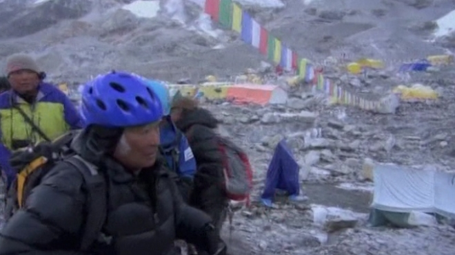 80-Year-Old Becomes Oldest Person To Climb Everest
