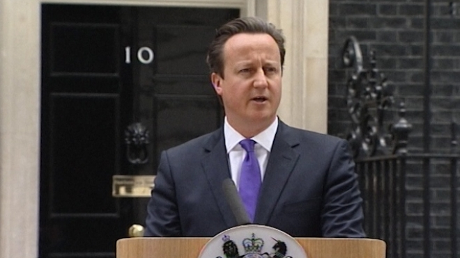 Cameron: We Will Never Give In To Terror
