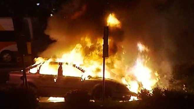 A Fourth Night Of Fires And Unrest In Stockholm