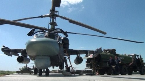 Russia Readies Military Helicopters To Protect Sochi 2014