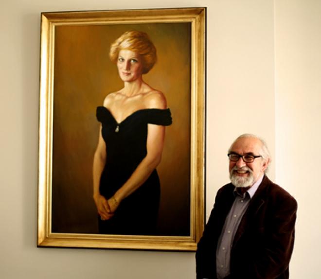 Princess Diana Portrait Artist Israel Zohar Q&A