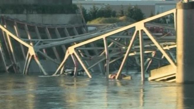 Bridge Collapses In Washington State