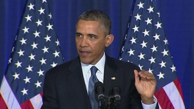 Obama Defends Military Drone Use