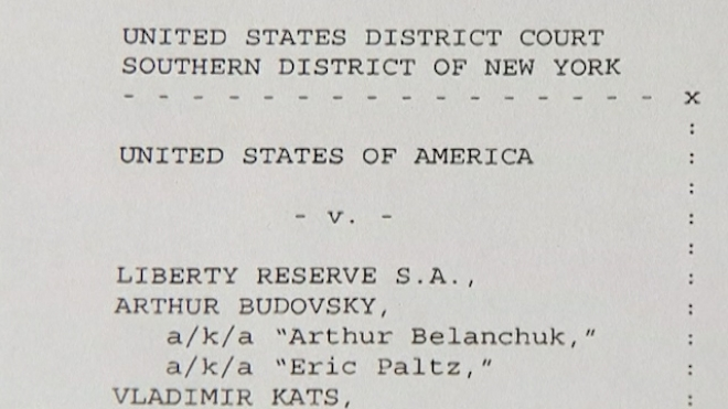U.S. Shuts Down Liberty Reserve For Criminal Links