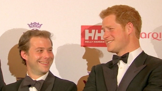 Prince Harry Supports Injured Soldiers At Charity Dinner