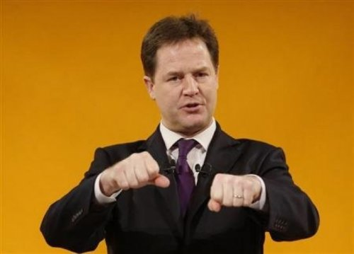 Nick Clegg Keen on Lobbying Laws