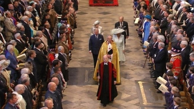 Service For 60th Anniversary of Queen Coronation