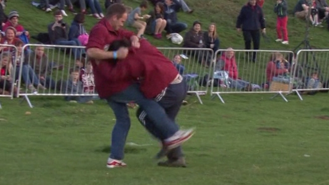 401st Shin Kicking Championships Kick Off In England