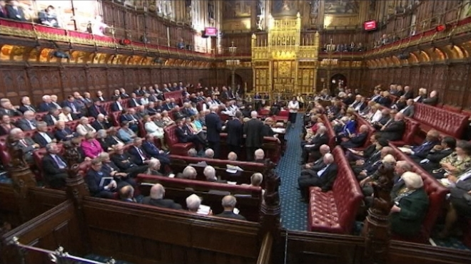House Of Lords Backs Same-Sex Marriage
