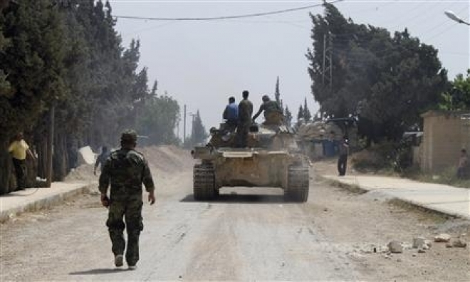 Syrian Army Captures Strategic Border Town Of Qusair