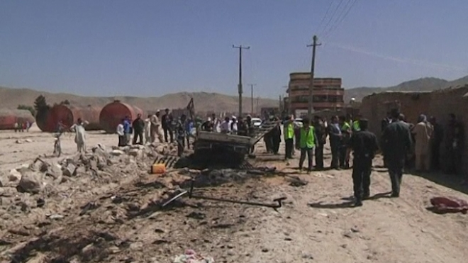 Taliban Launch Large Attack On Kabul Airport
