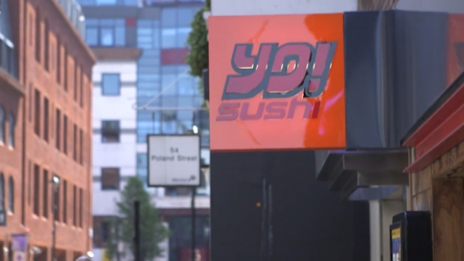 Yo! Sushi Reinvents the Burger and Table Service with the Worlds First Flying i-Tray