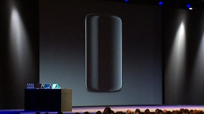 Apple Unveils New, Sleeker Mac Pro