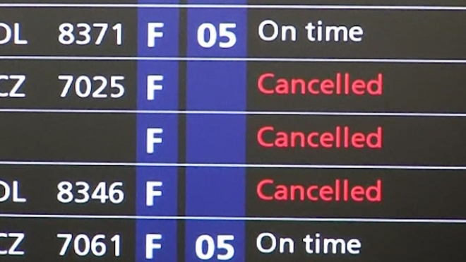 Strike Hits French Airports, Half Of Planes Grounded