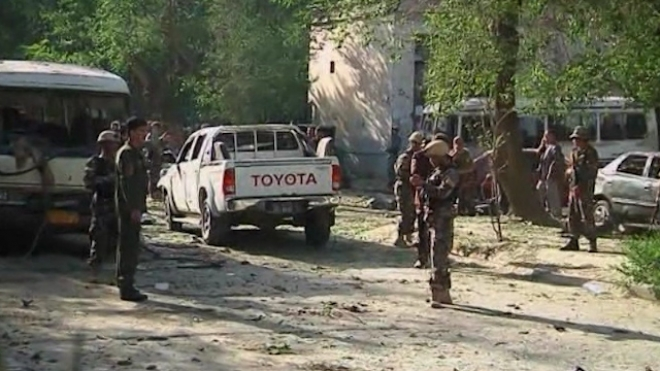 At Least Eight Killed In Kabul Attack