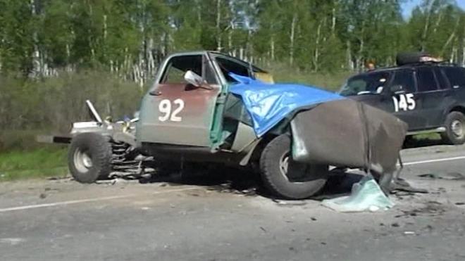British Driver Dies In Crash At Classic Car Rally In Siberia