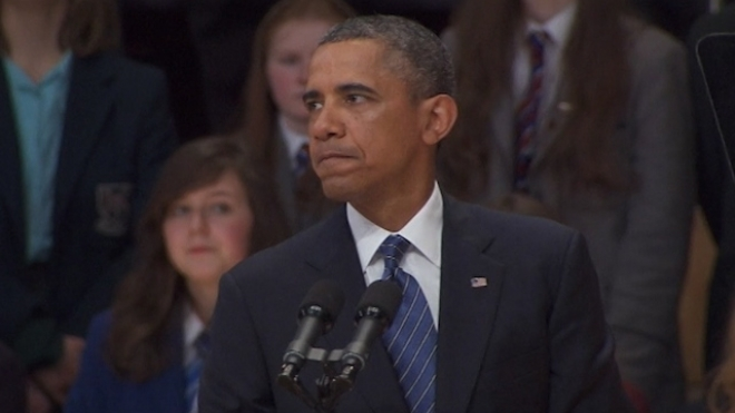 Obama: Belfast A Changed City Since Peace Agreement