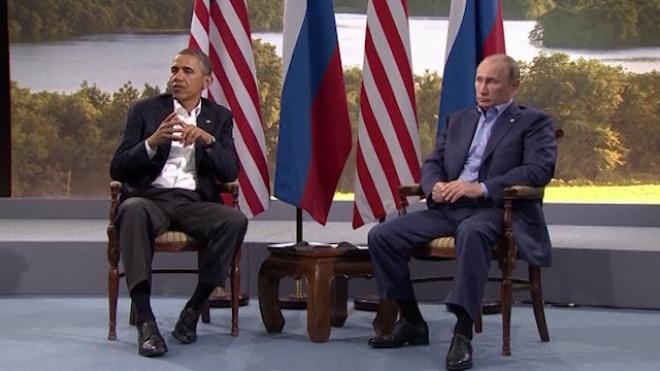 Putin And Obama Disagree Over Syria At G8
