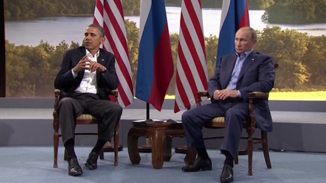 Putin And Obama Disagree Over Syria At G8