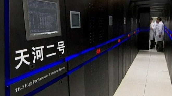 China Builds The Worlds Fastest Supercomputer