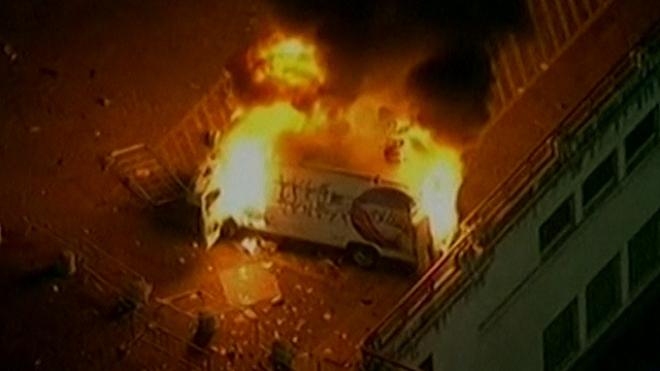 Demonstrators Clash With Police In Sao Paulo