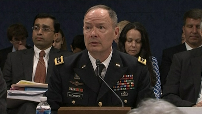 NSA Chief Defends Surveillance Programmes
