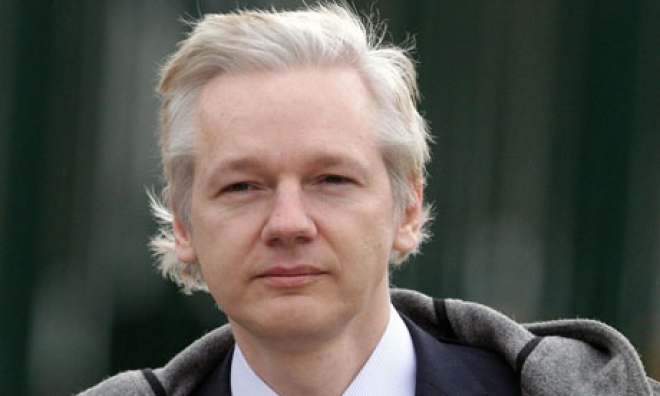 WikiLeaks Assange Says He Will Stay In Embassy