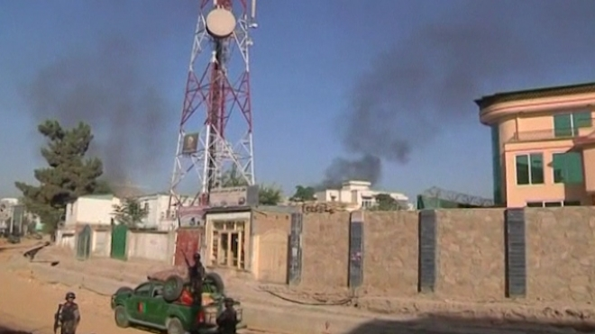Taliban Insurgents Attack Kabul Presidential Palace