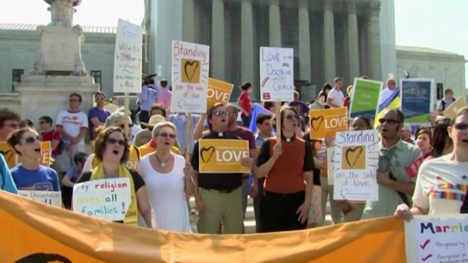 U.S. Supreme Court Delivers Win For Gay Marriage