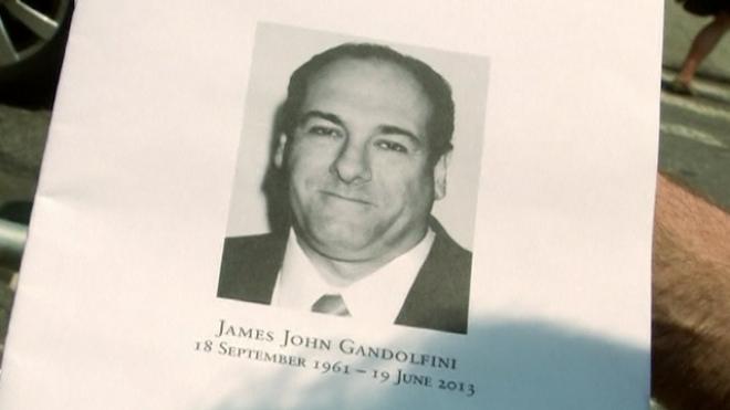 Celebrities, Friends And Fans Depart Gandolfini Funeral