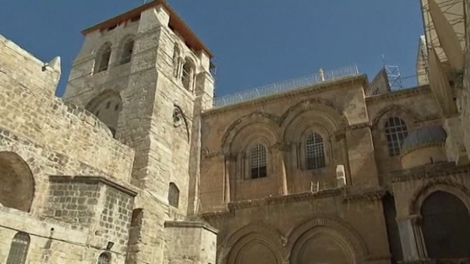 Archbishop Of Canterbury Visits Holiest Site In Jerusalem