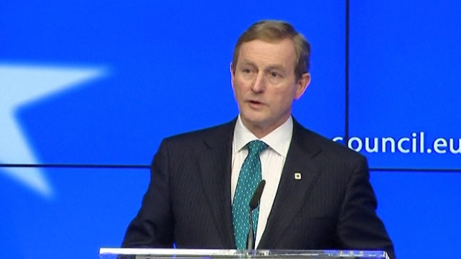 Kenny Says Irish Bankers Conduct Damages Countrys Reputation