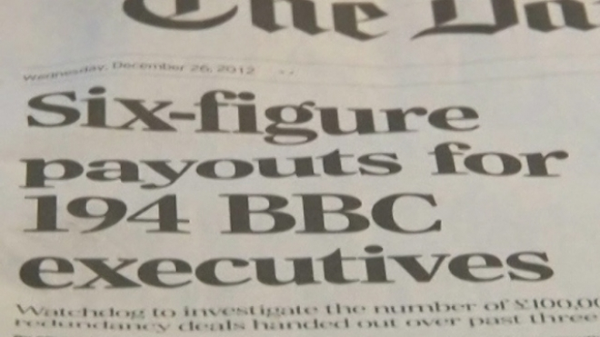 BBC Criticised For Over-Generous Severance Payments