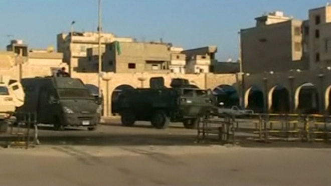 Egypt Army Says It Is On Alert In Sinai