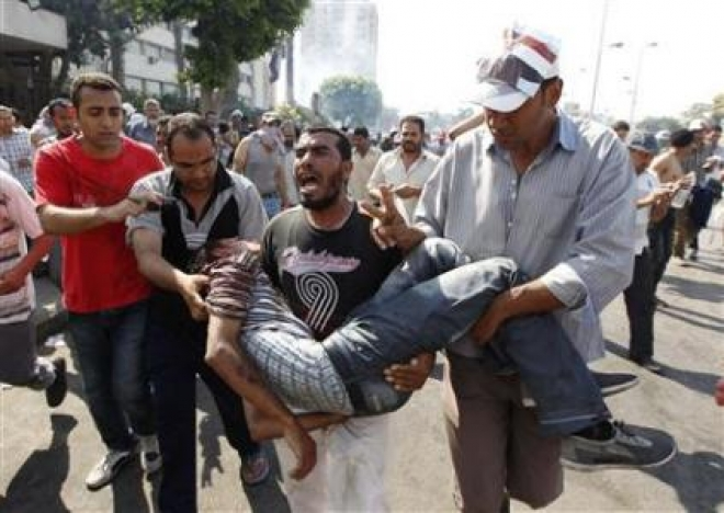 45 Dead As Army Opens Fire On Morsi Supporters