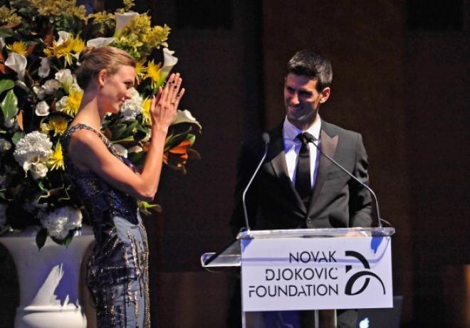 Djokovic Hosts Charity Dinner in London