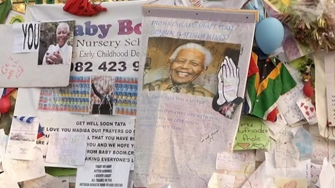 Mandela Starts Second Month In Pretoria Hospital