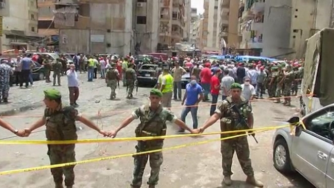 Dozens Hurt As Car Bomb Hits Beirut Stronghold