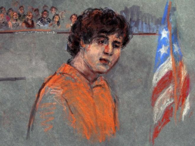 Dzhokhar Tsarnaev Pleads Not Guilty to Boston Bombing Charges