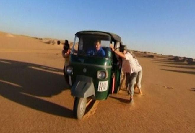 British Teachers Ride Tuk Tuk Across the World