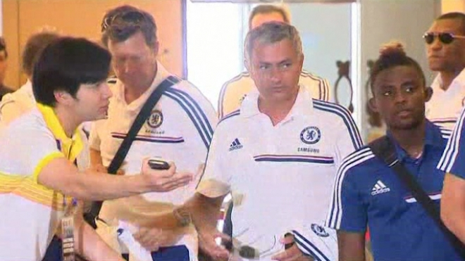 Chelsea Arrives In Thailand