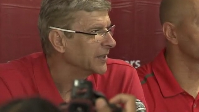 Wenger Declines To Talk Of Transfers
