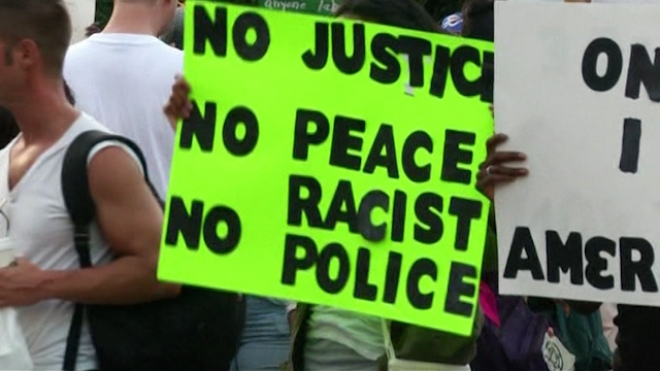 Thousands Protest After Zimmerman Acquittal