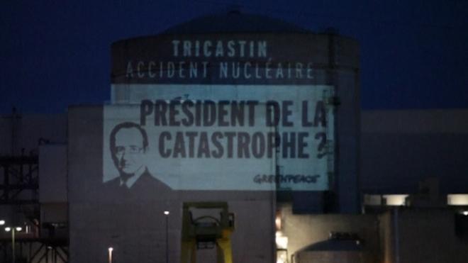 Greenpeace Activists Break Into Nuclear Plant