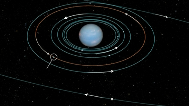 Astronomer Discovers New Moon Orbiting Neptune