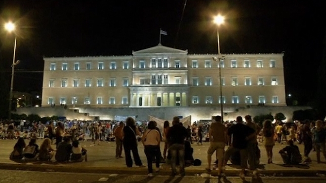 Greek Scheme To Fire Thousands Approved