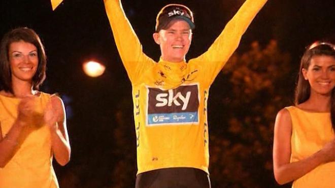 Brits Celebrate Chris Froome Tour De France Win