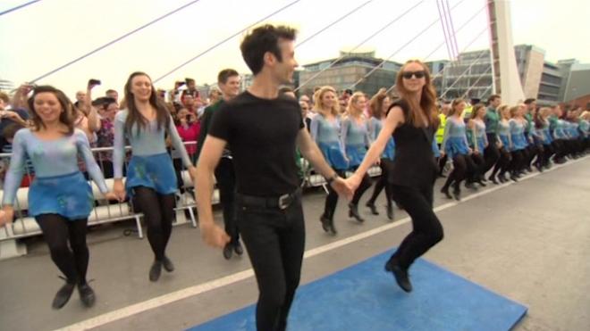 Riverdance World Record Smashed In Dublin