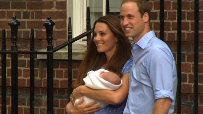 Royal Baby Named New Baby George Alexander Louis