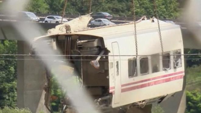 Driver Of Spain Train Crash Investigated